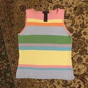 Ralph Lauren silk blend sleeveless top. GORGEOUS!!